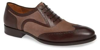Mezlan Cantone Wing Tip Lace-Up Oxford