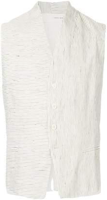 Isabel Benenato striped waistcoat