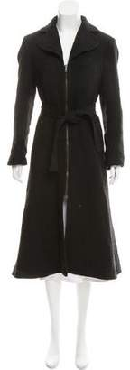DKNY Wool Blend Long Coat