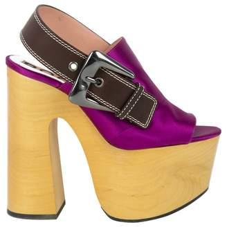 Rochas Cloth heels