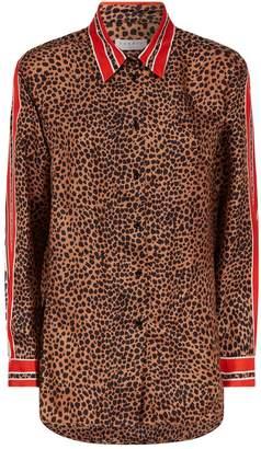 Sandro Leopard Print Shirt