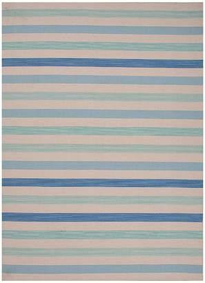 Blue And White Striped Rug Shopstyle Australia