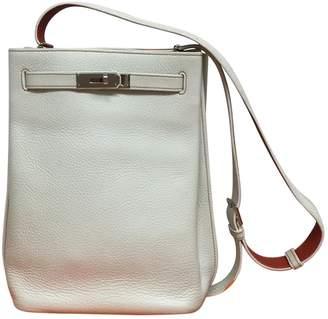 a33300a40ee4 ... Hermes So Kelly Ecru Leather Handbag