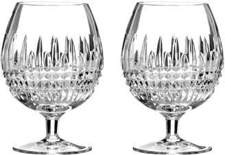 Waterford Lismore Diamond Brandy Glasses (Set of 2)