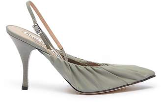 Acne Studios 'Beatrice' ruched slingback pumps