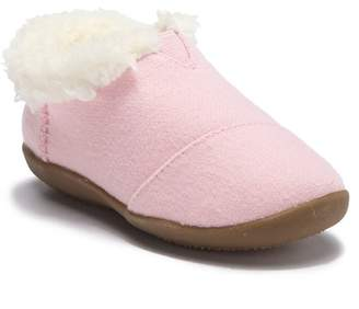 Toms Wool Lined Slipper - Wide Width (Baby, Toddler, & Little Kid)
