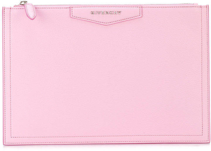 GivenchyGivenchy zip-top clutch bag