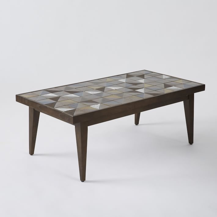 west elm Lubna Chowdhary Tiled Coffee Table - Bronze