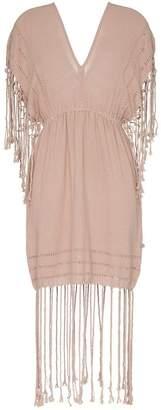 DAY Birger et Mikkelsen Caravana Imix fringe cotton mini dress