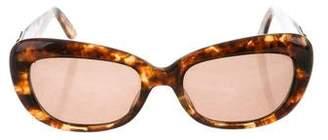 Fendi Logo Tortoiseshell Sunglasses