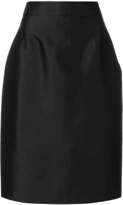 Prada high waisted midi skirt