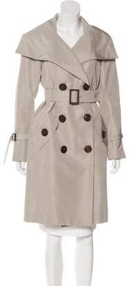 Charles Chang-Lima Double-Breasted Trench Coat