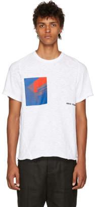 Abasi Rosborough White Limited Edition Crimson Arc T-Shirt
