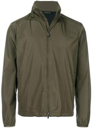 Z Zegna zipped fitted jacket