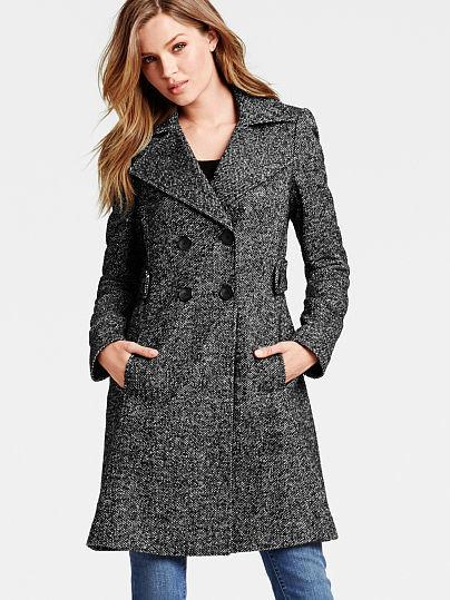The Wool Side Tab Coat
