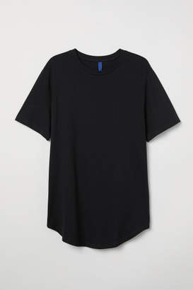 H&M Cotton Jersey T-shirt - Black
