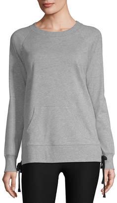 Xersion Side Lace Up Sweatshirt