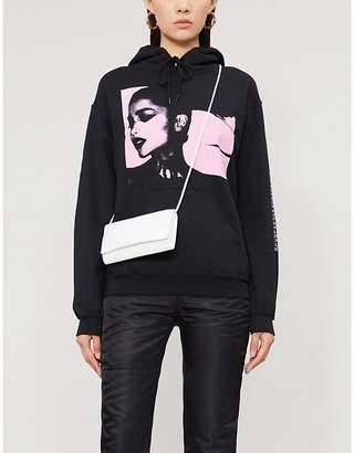 Bravado DESIGNS Ariana Grande Sweetener World Tour printed cotton-jersey hoody