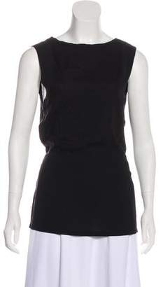 Ann Demeulemeester Sleeveless Tie-Accented Top