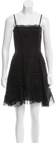 pradaPrada Silk Pleated Dress