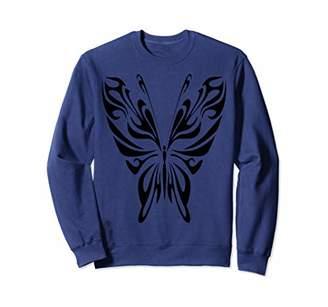 Butterfly T-shirt - Butterfly Tribal T-shirt