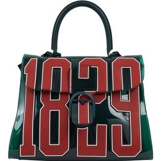Delvaux Le Brillant Green Plastic Handbag