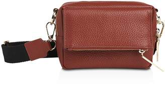 Whistles Bibi Leather Crossbody