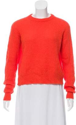 Alexander Wang Long Sleeve Crew Neck Sweater