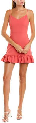 1 STATE 1.STATE 1.State Ruffle Hem Mini Dress