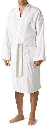 Polo Ralph Lauren Men's Kimono Cotton Velour Robe
