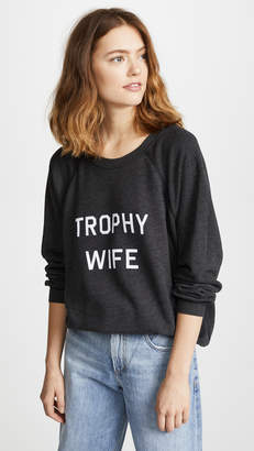 Wildfox Couture Trophy Wife Sweatshirt