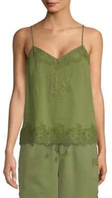 FENTY PUMA by Rihanna Floral Lace Trim Camisole