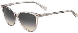 Bobbi Brown The Pattons 55mm Rectangular Sunglasses