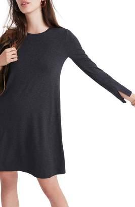 Madewell Long Sleeve Swingy T-Shirt Dress