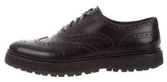 Church's Leather Semi Pointed-Toe Oxfords