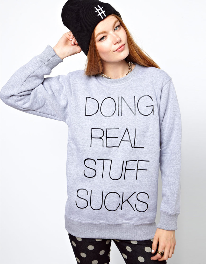 Local Heroes Doing Real Stuff Sucks Sweatshirt