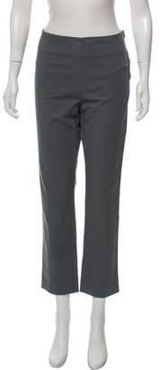 Hache Straight-Leg High-Rise Pants