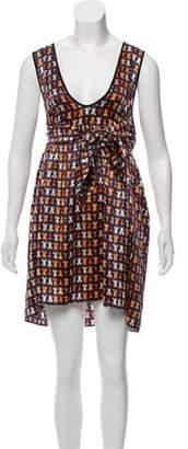 Vena Cava Sleeveless Mini Dress