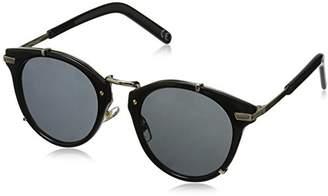 Foster Grant Women's Gia Blk Round Sunglasses