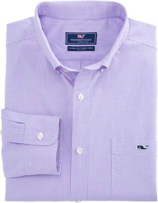 Vineyard Vines Seaboard Gingham Classic Tucker Shirt
