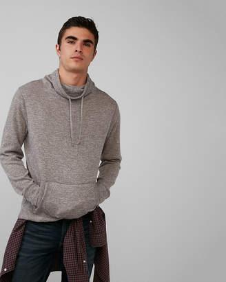 Express Plush Jersey Funnel Neck Sweatshirt
