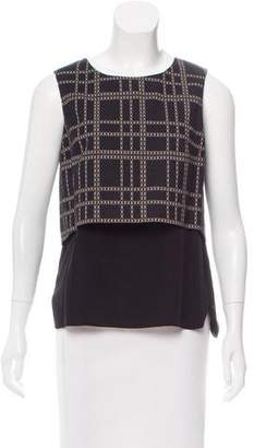 Thakoon Sleeveless Patterned Top w/ Tags