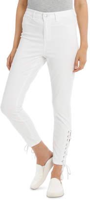 Miss Shop Lace up Detail Jean