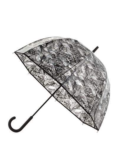 Hunter Hunter Boot Original Wave-Print Bubble Umbrella