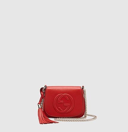 Gucci Soho Leather Chain Shoulder Bag