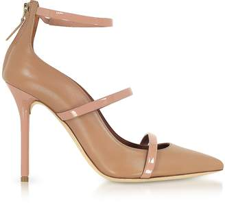 Malone Souliers By Roy Luwolt Robyn Nude and BLush Nappa Leather Pumps