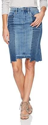 Blank NYC [BLANKNYC] Women's Denim Pencil Skirt