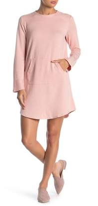 BeBop Long Sleeve French Terry Knit Dress