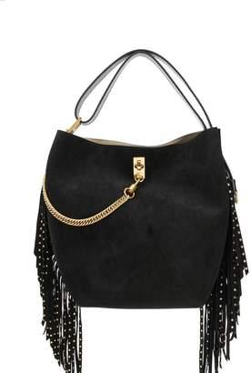 Givenchy fringed bucket bag