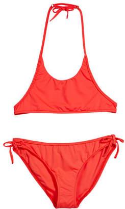 Milly Minis Two-Piece Halter Bikini, Size 4-6